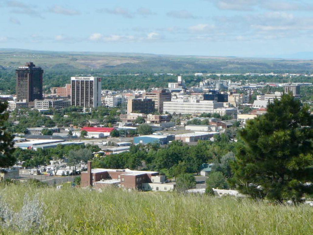 city of Billings Mt downtown